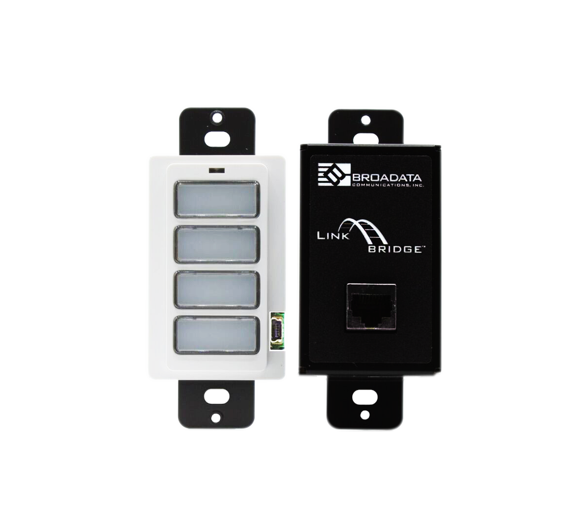 LinkBridge™ 4 and 8-Button Keypad with RS232 Interface